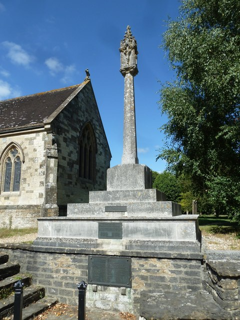 St Gregory, Marnhull: war memorial