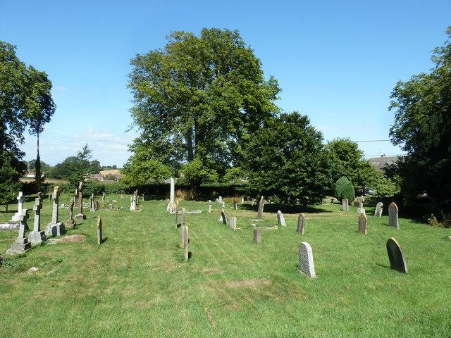 St Gregory, Marnhull: churchyard (E)