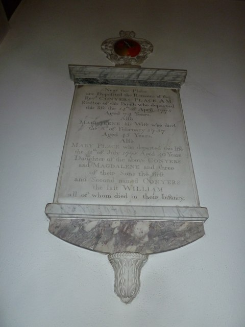 St Gregory, Marnhull: memorial (i)