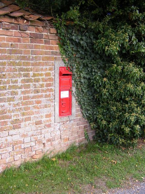 Church Farm Victorian Postbox