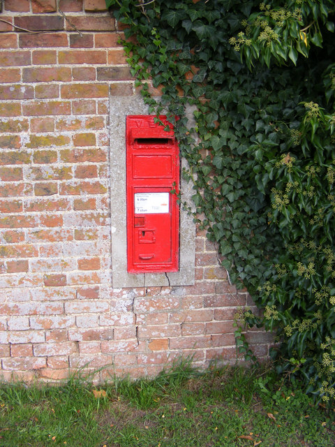 Church Farm Victorian Postbox