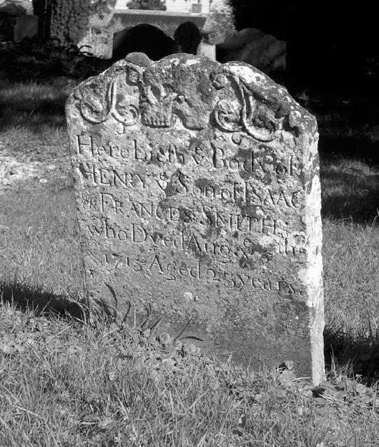 St Mary's churchyard, Rockland St Mary