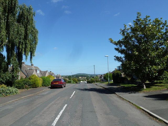 Looking north-east along Phillips Road