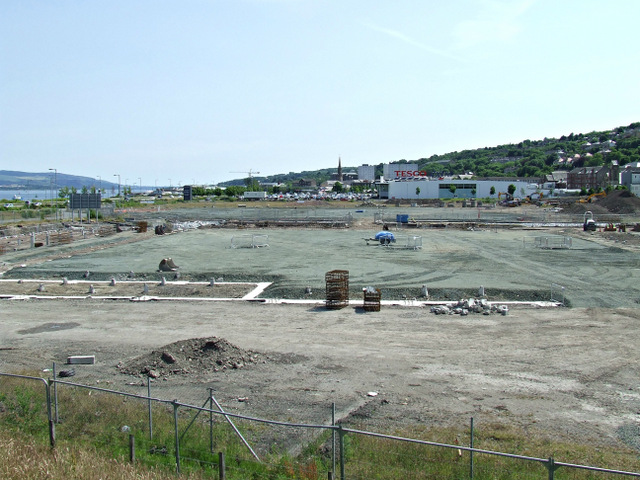 Former Kingston and Glen shipyards site