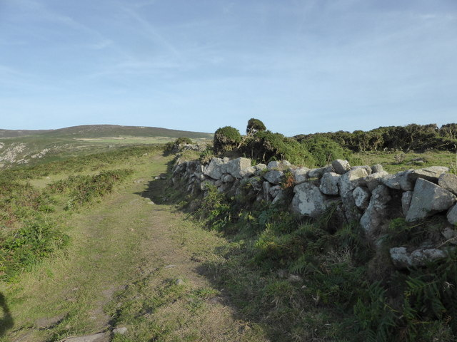 The coastal path near Rosemergy