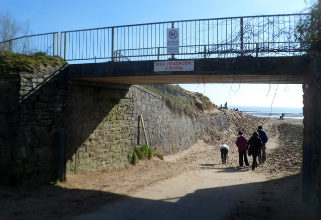 This way to the beach, Swansea