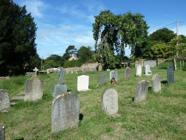 St Mary, Powerstock: churchyard (ii)