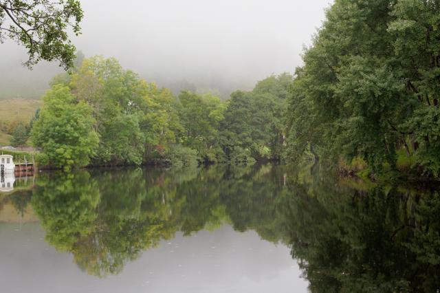 Still river in Killin