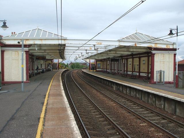 Troon railway station, Ayrshire