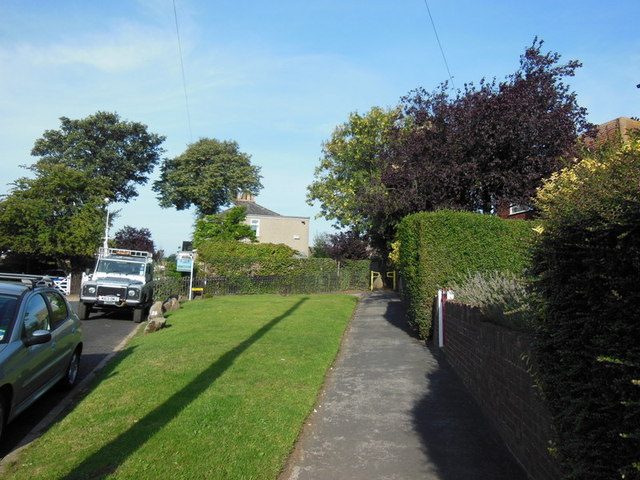 A path leading to Chamberlain Street, Sutton on Hull
