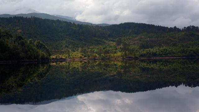 Reflections in Loch Garry