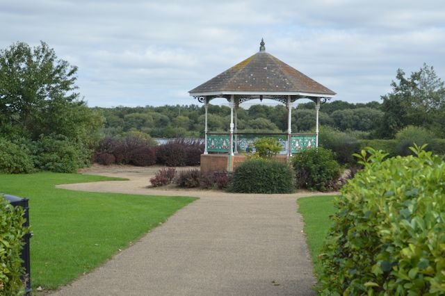Bandstand at Willen Lake