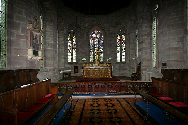 Nativity of the Virgin Mary, Madley - chancel & apse