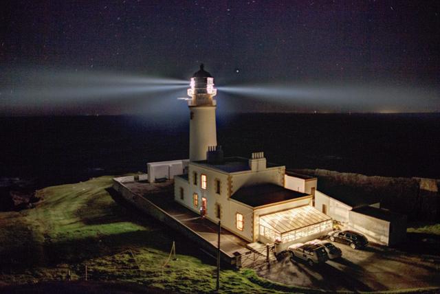 Lighthouse at Rubha Rèidh