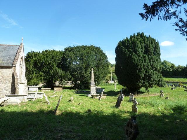 St Mary, Powerstock: churchyard (v)