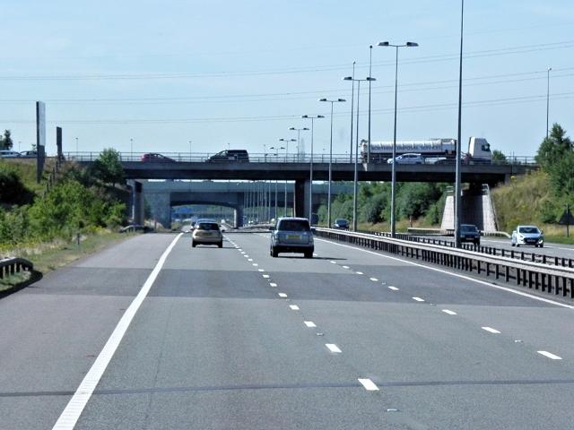 M6 Toll Road, Kingsbury Road Bridge