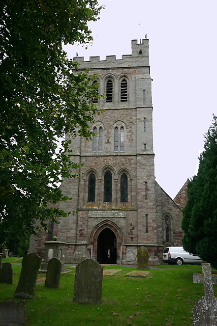 Nativity of the Virgin Mary, Madley - tower