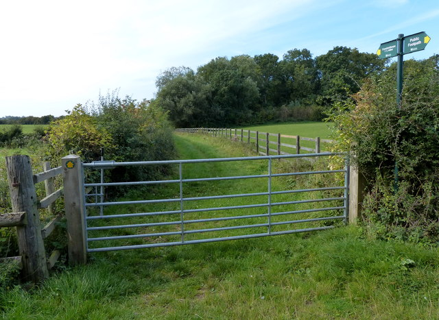 Public footpath to Countesthorpe