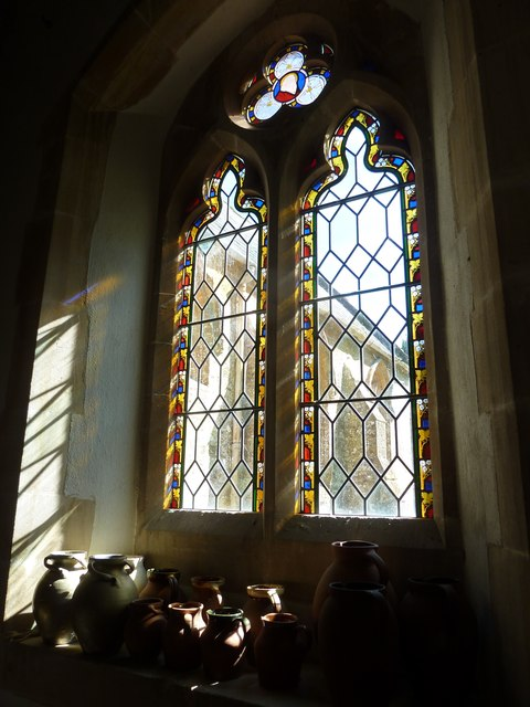 St Mary, Powerstock: stained glass window  (E)