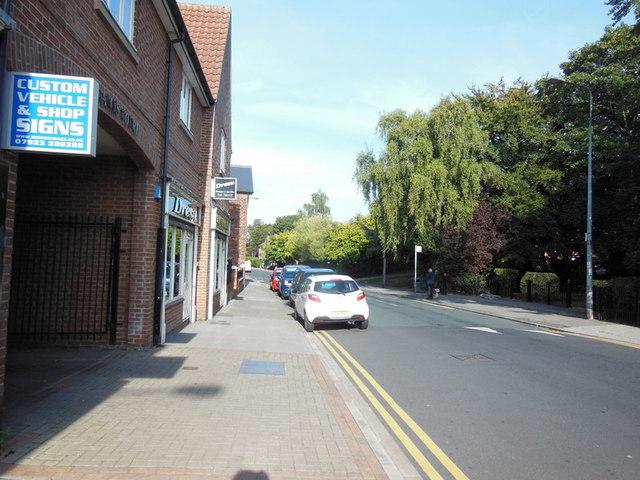 Church Street, Sutton on Hull