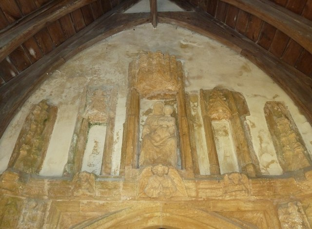 Inside St Mary, Powerstock (1)