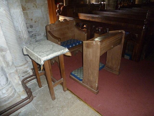 Inside St Mary, Powerstock (2)