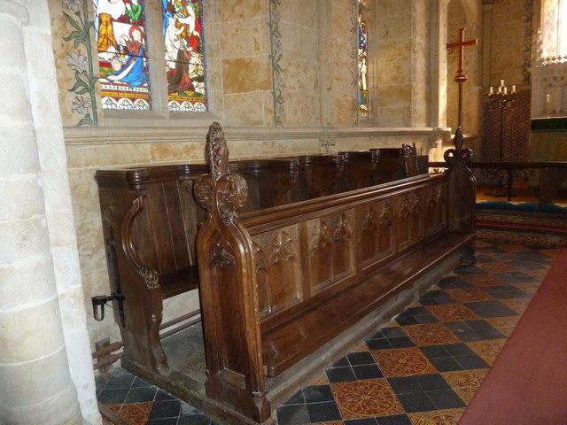 Inside St Mary, Powerstock (6)