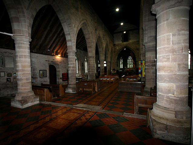 Nativity of the Virgin Mary, Madley - early C13 nave