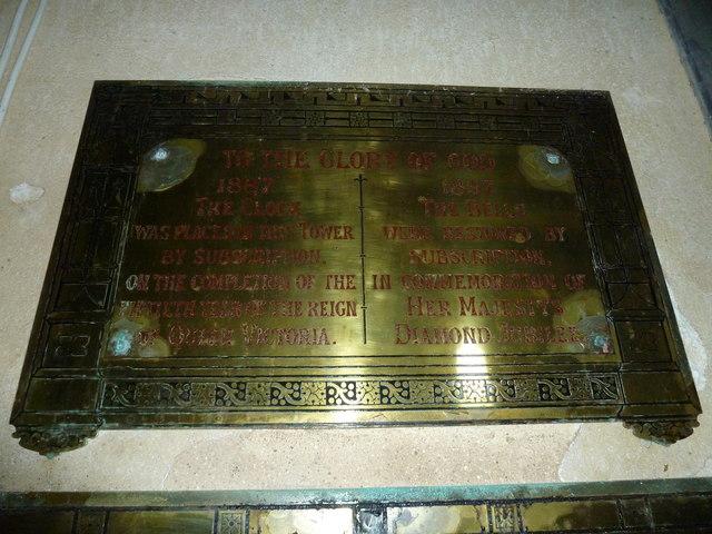 St Mary, Powerstock: an earlier Diamond Jubilee commemorated