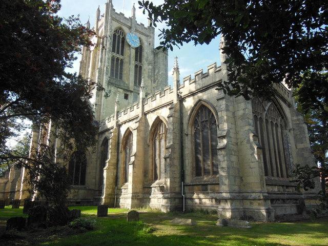 The Church of St Mary the Virgin, Cottingham