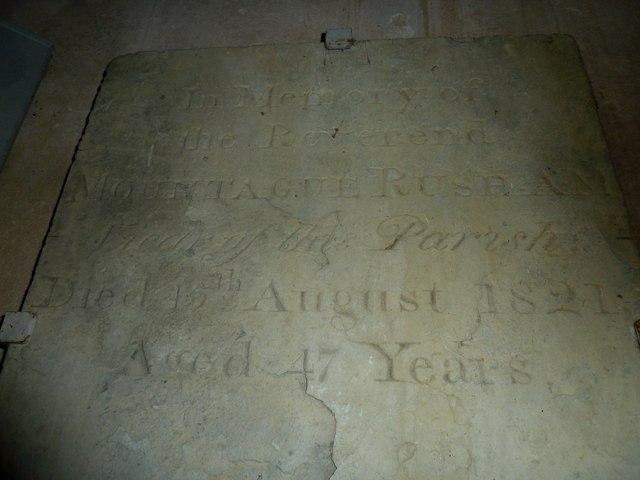 St Mary, Powerstock: memorial (2)