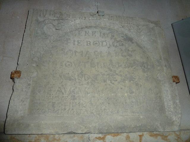 St Mary, Powerstock: memorial (8)