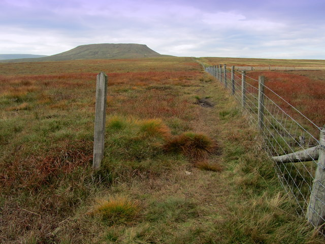 Footpath leading to Little Whernside