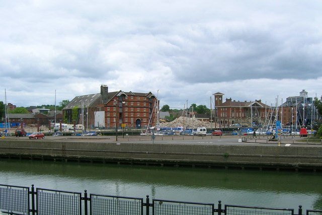 Flint Wharf and Albion Quay, Ipswich