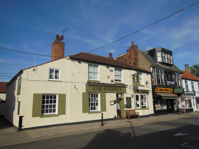 The King William IV Public House, Cottingham