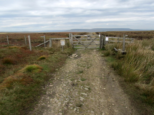Track leading to Coverdale