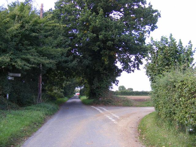Church Lane, Brandiston