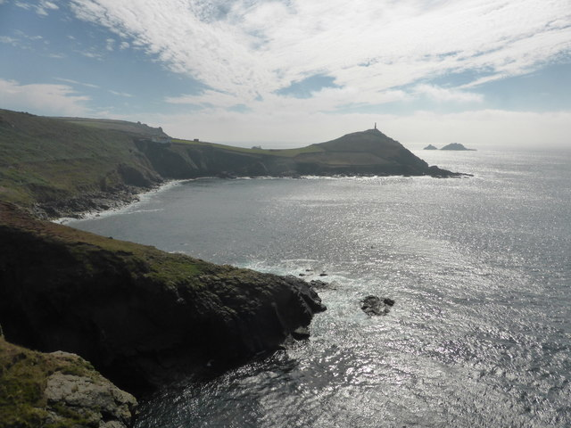 Looking over Porth Ledden