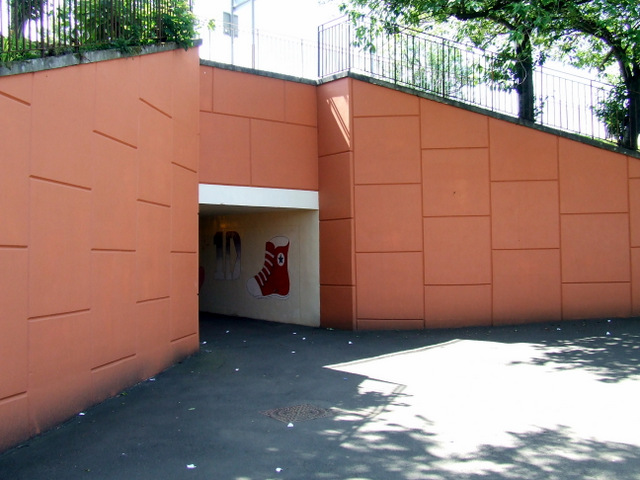 Main street pedestrian subway