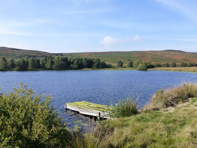 Old landing stage on Kimmer Lough