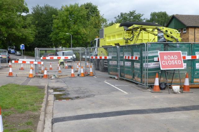 Now Cator Lane is shut