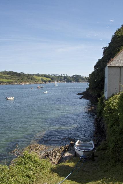 Helford Coastal Path near Treath