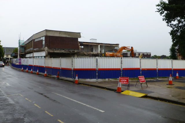 Former Wilkinson's is demolished