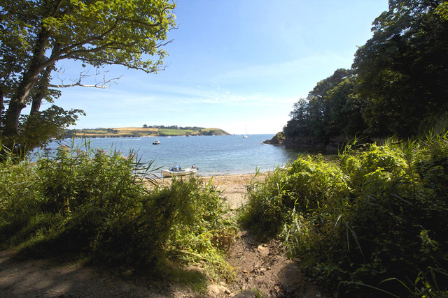 Helford River from Bosaham Cove