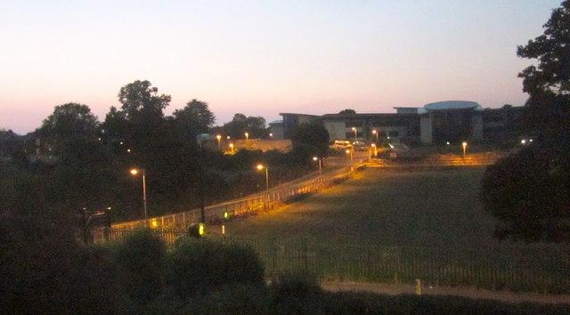 Twilight over Torquay Academy