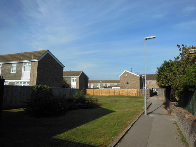 Houses on Perran Close, Bransholme, Hull