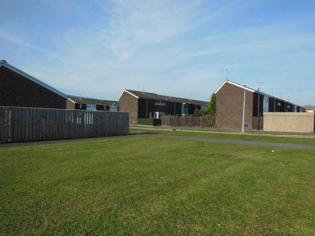 Houses on Perran Close, Bransholme, Hull