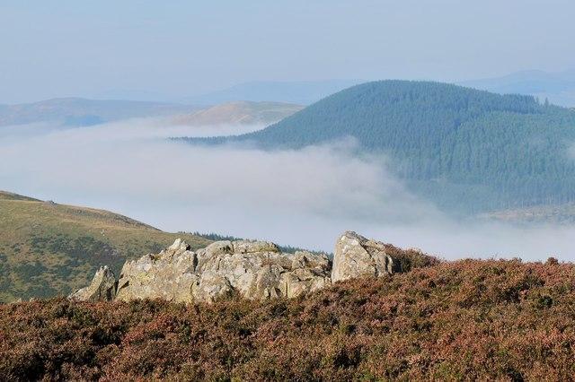 Cademuir Hill from Craig Head summit