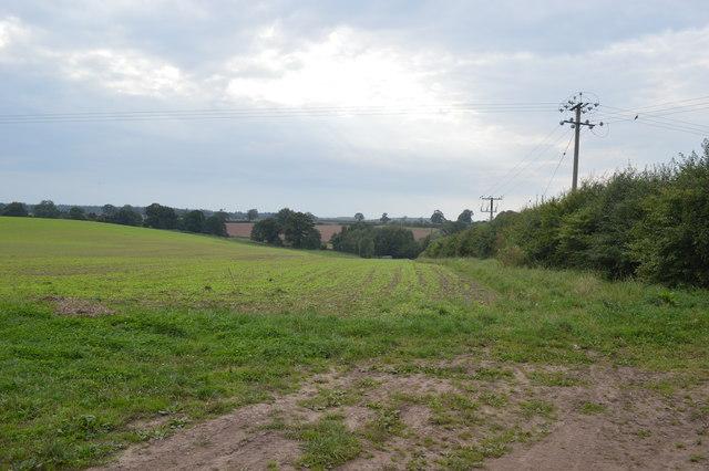 Bridleway to Brockton Grange