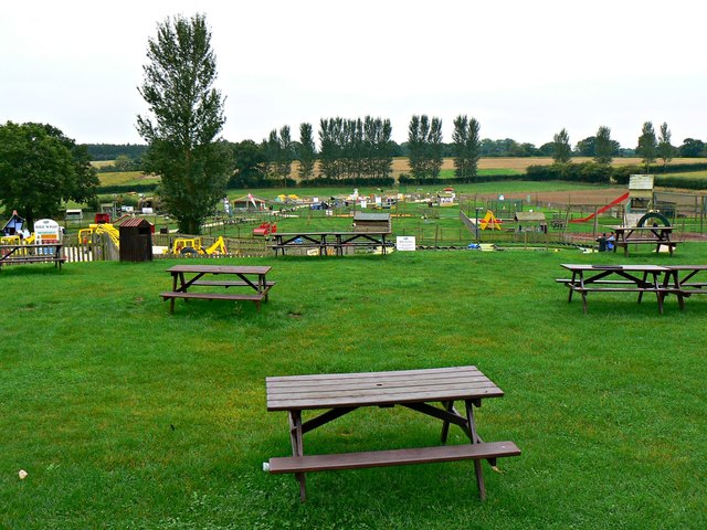 Picnic and play areas, Hatton Country World, Warwick